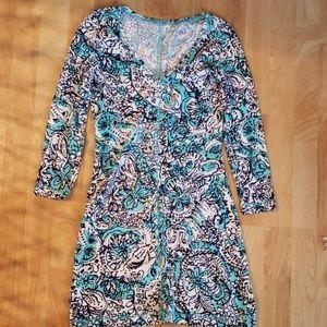 Lilly Pulitzer Juliet Dress Shorely Blue